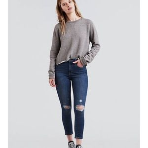 Levi Cropped Ankle Jeans! ❤️
